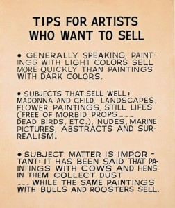 John Baldessari Tips for Artists
