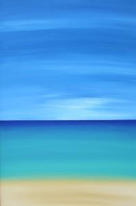 2013-Hanalei Painting by Stu Coleman