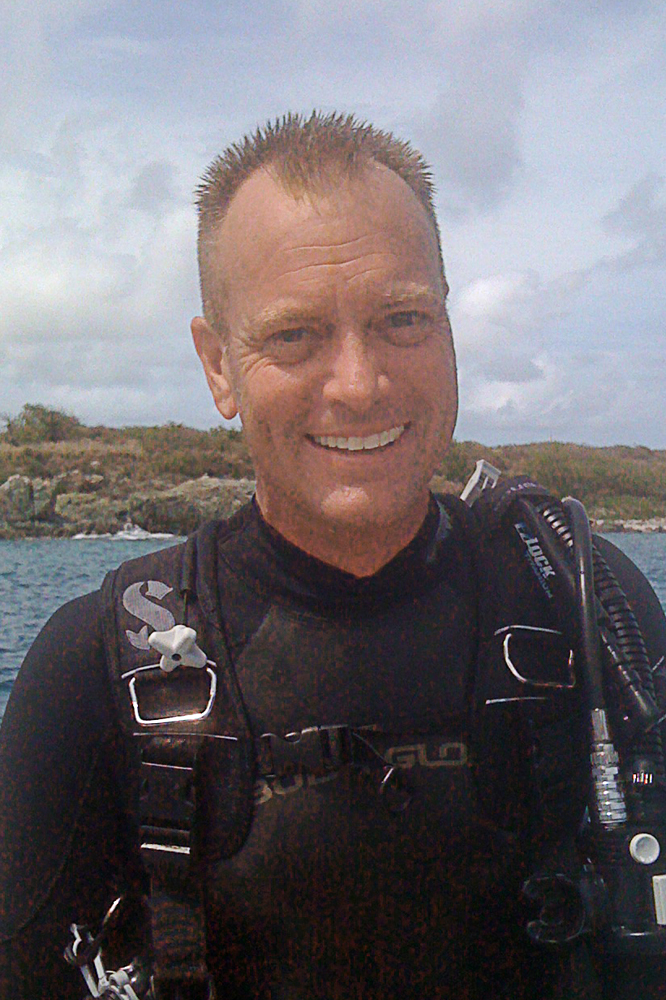 Stu Coleman - Scuba Instructor at Buck Island, St. Thomas, USVI