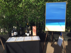 The Painting El Segundo sold for more than list price at the 2015 Reff Check Gala auction held at the Jonathan Club in September 2015/