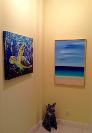 Juno Beach painting